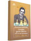 A. Alekhine, Complete Games Collection, with his own annotations