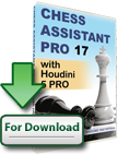Chess Assistant 17 PRO with Houdini 5 PRO (download)