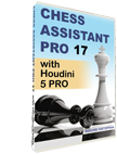 Chess Assistant 17 PRO with Houdini 5 PRO (DVD)