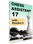 Chess Assistant 17 with Houdini 5 (DVD)