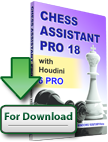 Chess Assistant 18 PRO with Houdini 6 PRO (download)