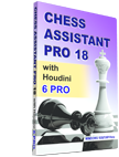 Chess Assistant 18 PRO with Houdini 6 PRO (DVD)