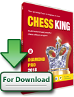Chess King Diamond Pro 2018 with Houdini 6 (download, PC & Mac)