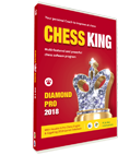 Chess King Diamond Pro 2018 with Houdini 6 (DVD, PC & Mac)