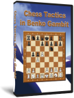Chess Tactics in Benko (Volga) Gambit (DVD)