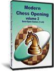 Modern Chess Opening 2: Semi-Open Games (1.e4) (CD)