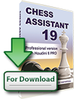 Chess Assistant 19 PRO with Houdini 6 PRO (download)