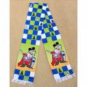 "Chess colored scarf ""King"""