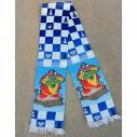 "Chess colored scarf ""Mushroom"""